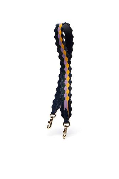 Lacoste Kadın Fancy Straps Siyah- Lila Çanta Askısı NF2572FY