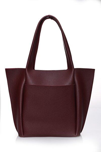Pera Kadın Bordo Askılı Çanta