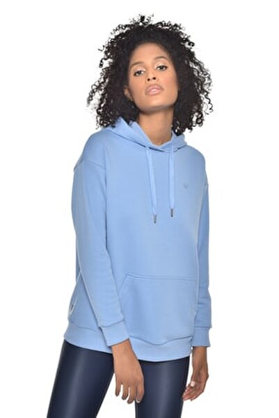 Mavi Kadın Kapüşonlu Sweatshırt GW-8785