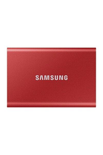 Samsung T7 2tb Usb 3.2 Gen 2 (10gbps, Type-c) Taşınabilir Ssd Kırmızı Mu-pc2t0r