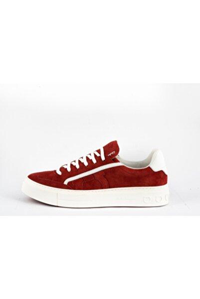 Salvatore Ferragamo Erkek Kırmızı Sneakers