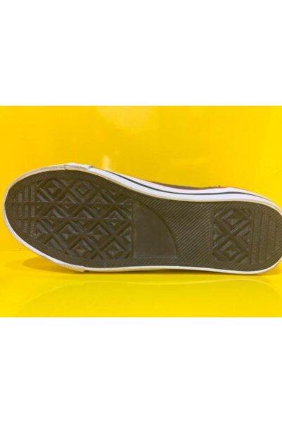 Genesis Unisex Çocuk Yeşil Günlük Bogazlı Keten Casual Ayakkabı