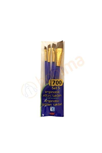 Fanart Academy Ergo 700 Seri Fırça Seti 5 (4lü)