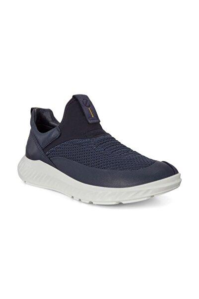 Ecco Erkek Lacivert Sneaker Ayakkabı