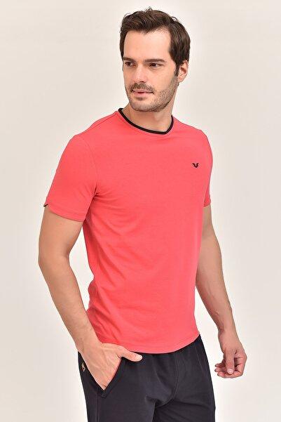 bilcee Kırmızı Erkek T-Shirt ES-2374