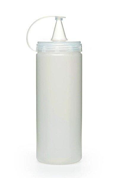 TUT & AL home 3 Adet Sızdırmaz Kapaklı Plastik Yağ Şişesi Ve Sos Şişesi 700 Ml