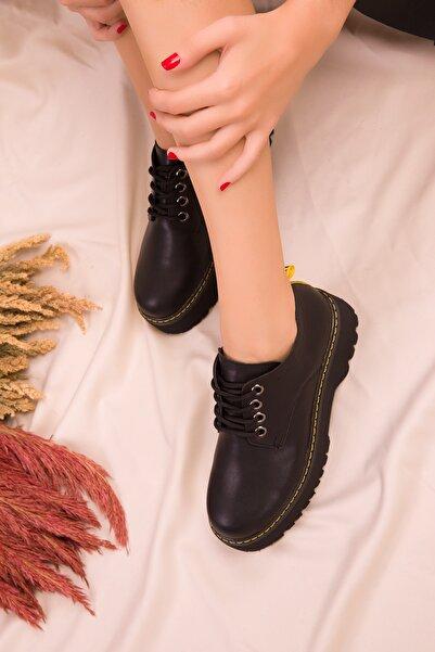 SOHO Siyah Kadın Casual Ayakkabı 15609