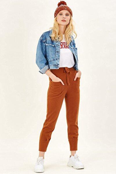 Arma Life Kadın Bisküvi Cep Detaylı Pantolon