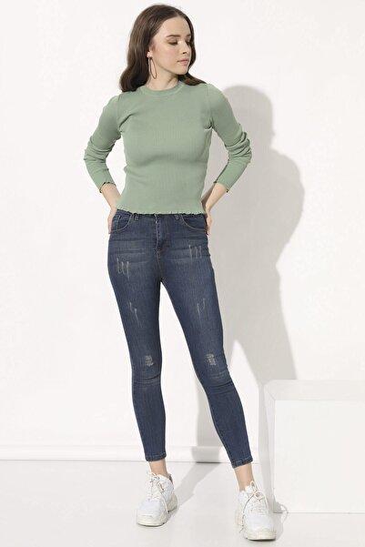 Arma Life Kadın Kahve Tint Yüksek Bel Pantolon