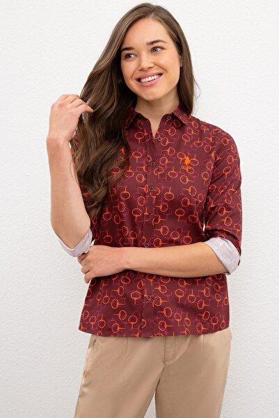 U.S. Polo Assn. Kadın Gömlek G082SZ004.000.1089789