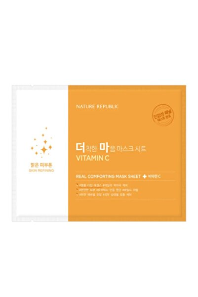 Nature Republic C Vitamini Maskesi- Real Comforting Mask Sheet Vitamin C