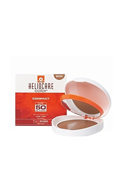 Heliocare Advanced Compact Spf 50 10 Gr ( Brown Kahverengi Esmer Ten )