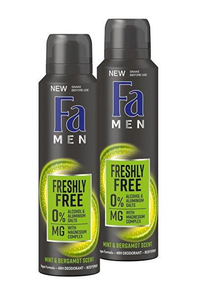 Fa Freshly Free Nane & Bergamot Deosprey X 2 Adet