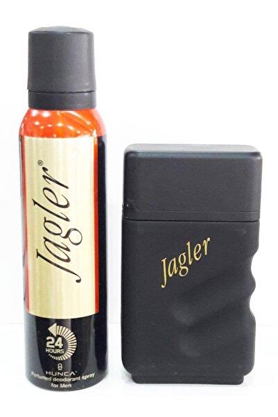 Jagler Klasik Edt 90 Ml Erkek Parfümü + 150 Ml Deodorant Kutusuz