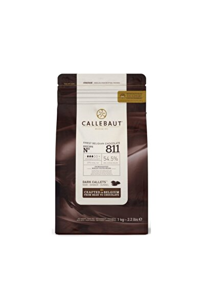 Callebaut Bitter Damla Çikolata 811 (1 Kg)