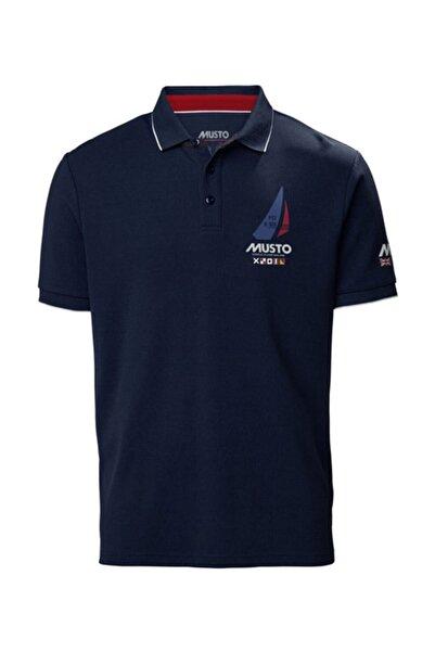 Musto Erkek Lacivert T-shirt