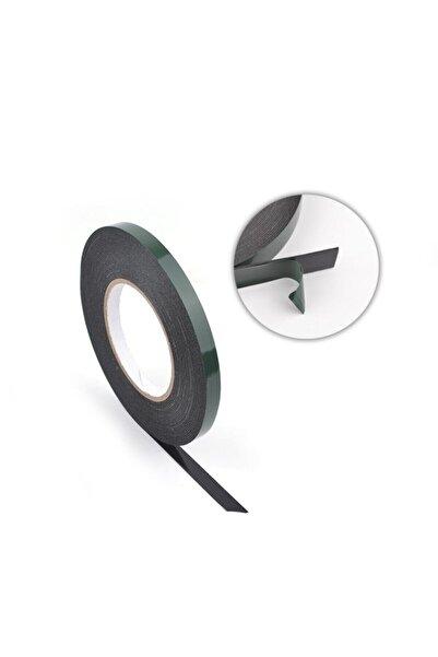 Sgs Güçlü Yapışkanlı Köpük Eva Cam Kapı Filtreleme Çift Taraflı Montaj Bantı Siyah- 10mmx10mt