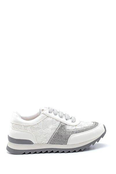 Derimod Kadın Beyaz Dantel Detaylı Sneaker