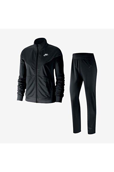 Nike Track Suit Kadın Siyah Günlük Eşofman Takımı Bv4958-011