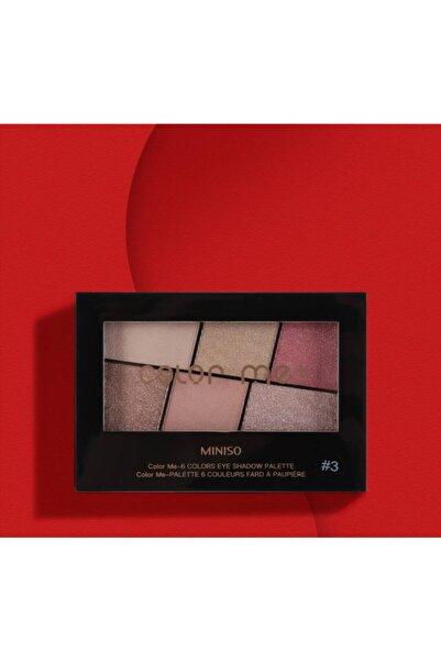 Miniso Mınıso Color Me Far Paleti 6'lı