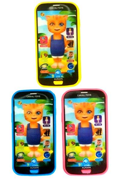 grs oyuncak Türkçe Müzikli Kedi Model Dokunmatik Telefon