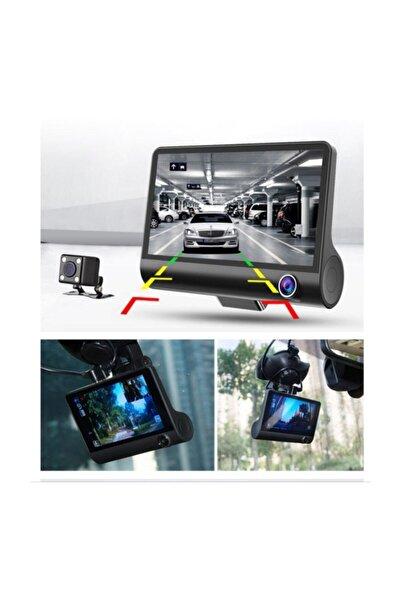 DEXTEL 1080p Yol Kayıt 3 Kameralı {yol+araç Içi+geri Vites Gece Görüşlü}