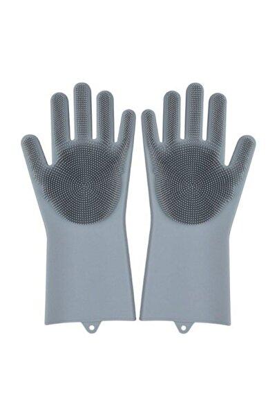 1001Hediye Magic Gloves Sihirli Bulaşık Eldiveni Mutfak Banyo Temizleme Fırçası Oto Ev Işkarışı Renk