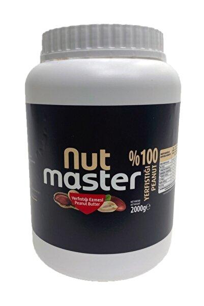 Nut Master Yer Fıstığı Ezmesi (%100) 2 Kg