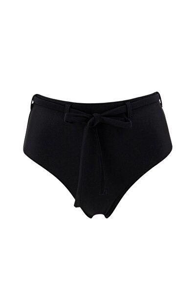 DeFacto Kadın Basic Yüksek Bel Bağcık Detaylı Bikini Altı