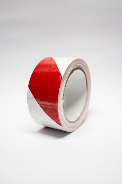 Ruvitape Yer Işaretleme Bandı Kırmızı-beyaz 30mt