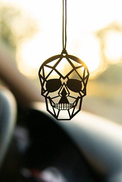 Jön Metal Kurukafa Metal Dikiz Aynası Araba Süsü