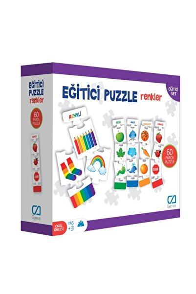 CA Games Null Eğitici Renkler Puzzle