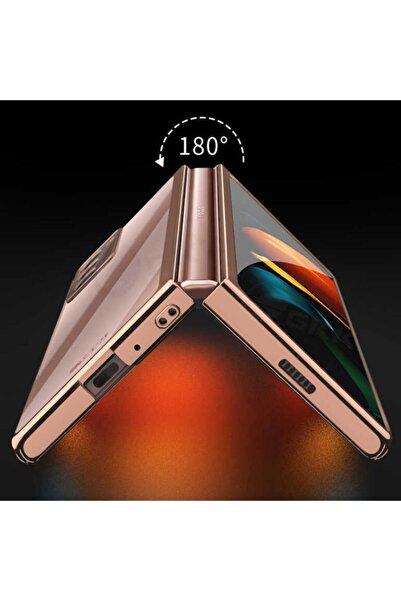 Samsung Cover Statıon Galaxy Z Fold 2 360° Tam Korumalı Kılıf Darbe Dayanıklı Kamera Korumalı Ince Cam Kapak