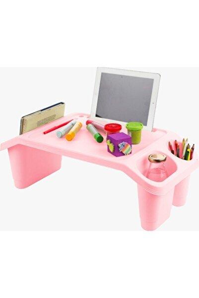 Happyspring Öğrenci Çocuk Ders Çalışma Masası Kahvaltı Laptop Sehpası