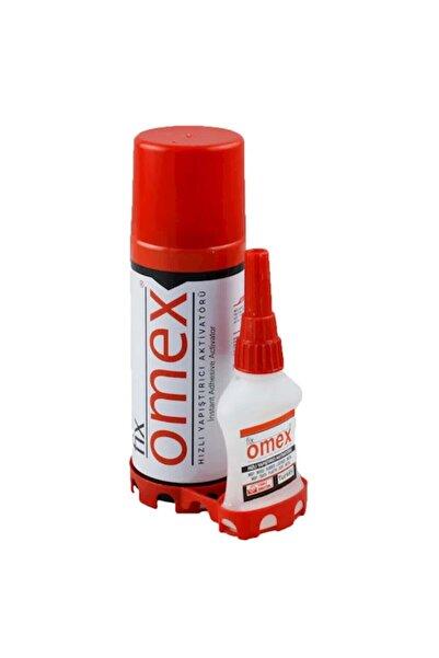 Fix Omex Omex Hızlı Yapıştırıcı Aktivatörü 400 Ml+75 Gr
