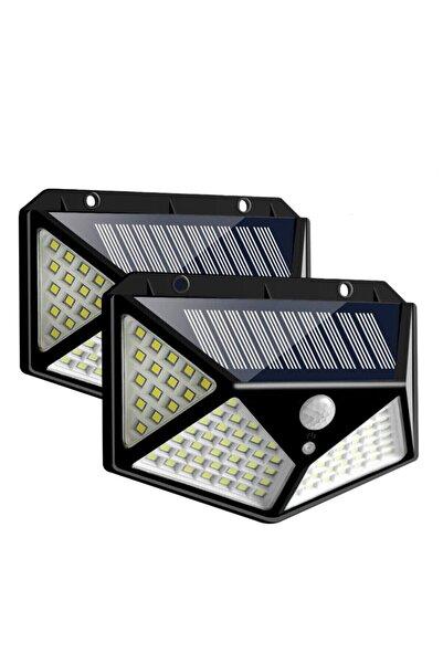 Kargolat Projektör 100 Ledli Işık Sensörlü Güneş Enerjili Solar Lamba