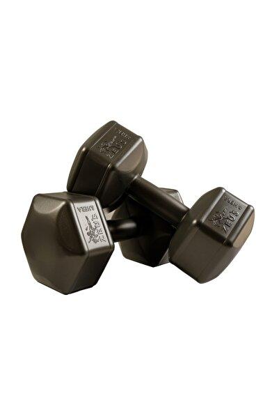 ZEUSSPOR Zeus Spor 5 Kg Dambıl 2 X 5 Kg Toplam 10 Kg Dambıl Seti Siyah (dumbell)