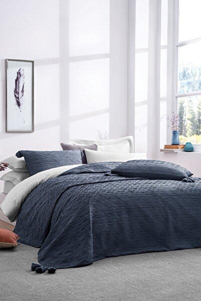 Yataş Bedding İndigo Laren Çift Kişilik Yatak Örtüsü Seti