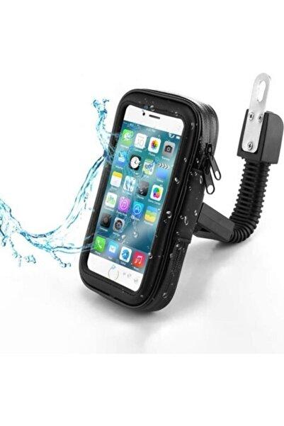 pekars Universal Usb Şarjlı Large Beden 6 Inç Motosiklet-bisiklet-motor Telefon Tutucu Su Geçirmez Kılıf