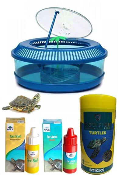Sealife Lüx Yuvarlak Kaplumbağa Bahçesi Ve Vitamin , Yem Paketi