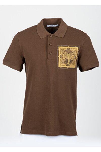 Givenchy Erkek Kahverengi T-shirt