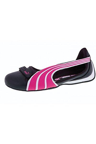 Puma Kadın Siyah Beyaz Pembe Yazlık Babet Spor Ayakkabısı Vo303420 08