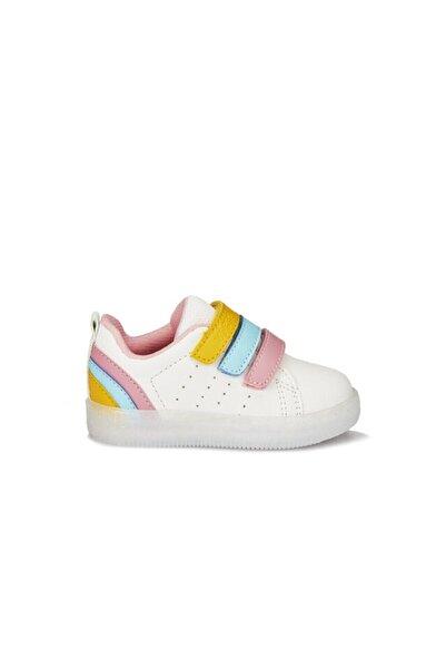 Vicco Sun Bebe Işıklı Ayakkabı Beyaz/pembe