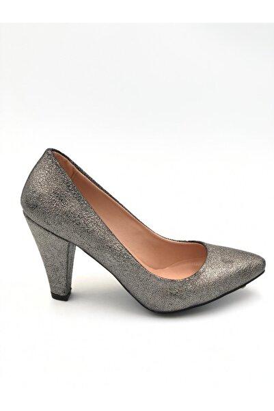 Sanita Kadın Stiletto Ayakkabı Gümüş