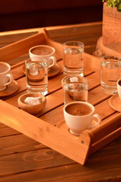 Bambum Yola - 6 Kişilik Kahve Fincan Takımı B0295