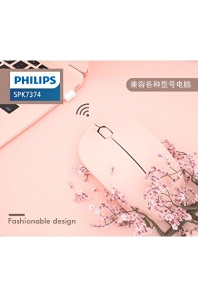 Philips Spk7374 Pembe Optik Kablosuz Mouse