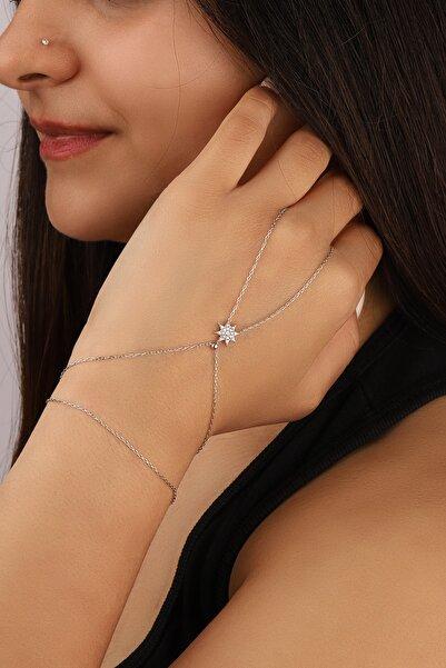 Lia Berto Kadın Yıldız Model 925 Ayar Gümüş Şahmeran