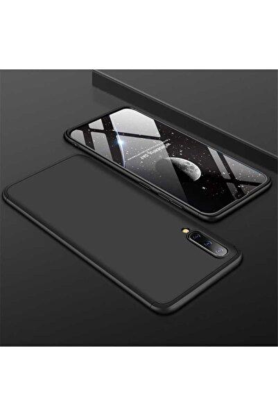 Samsung Cover Station Galaxy A50 Kılıf Ays Kapak 360° Tam Koruma Darbe Emici Kamera Koruyucu Mat Kapak
