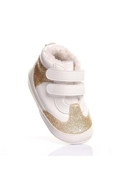 Funny Baby Unisex Bebek Sarı Iki Bantlı Ilk Adım