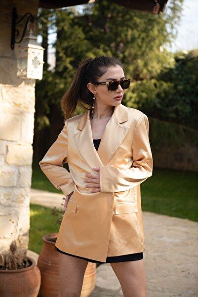 That's It Kadın Bej Paltrow Ceket
